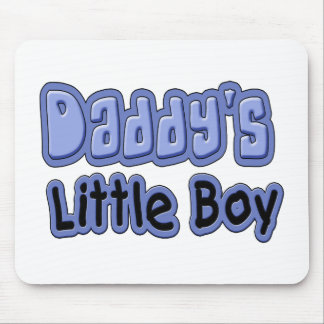 Daddy's Little Boy Mouse Pad