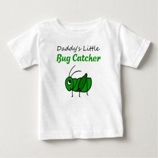 Daddy's Little Bug Catcher Baby T-Shirt