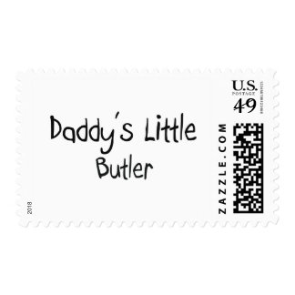 Daddy's Little Butler Postage Stamps