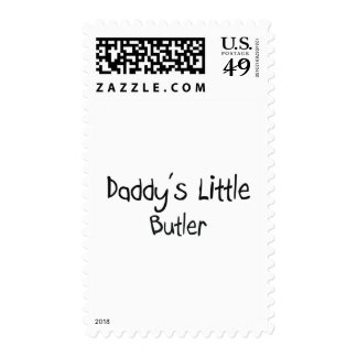 Daddy's Little Butler Stamps