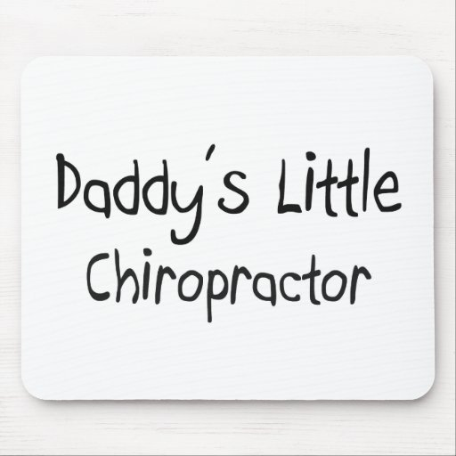 Daddy's Little Chiropractor Mouse Pad