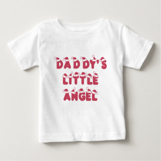 Daddy's little (Christmas) angel Baby T-Shirt