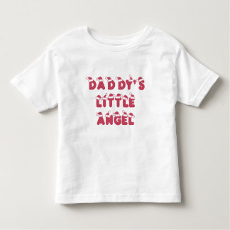 Daddy's little (Christmas) angel Toddler T-shirt