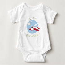 Daddy's Little Co-Pilot Baby Bodysuit