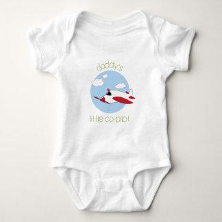 Daddy's Little Co-Pilot Baby Bodysuit