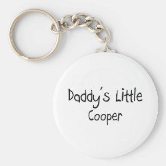 Daddy's Little Cooper Keychain