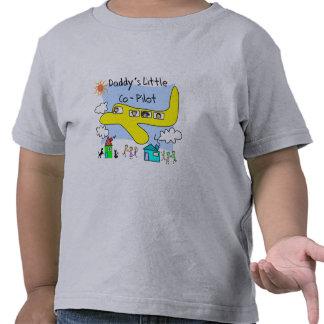 """Daddy's Little Copilot"" Kids T-Shirts"