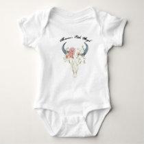 Daddy's Little Cowboy Baby Bodysuit