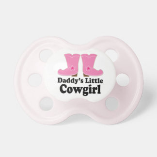 """Daddy's Little Cowgirl"" Pacifier"