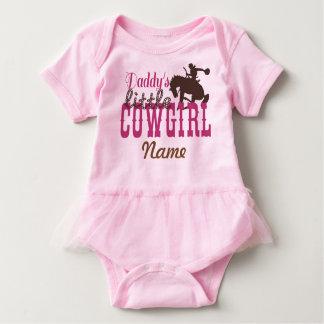 """""""Daddy's Little Cowgirl"""" Tutu Bodysuit"""