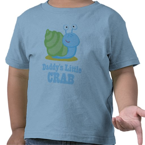 Daddy's Little Crab Kids Tee