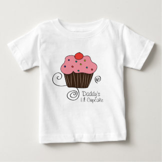 Daddy's Little Cupcake Baby T-Shirt