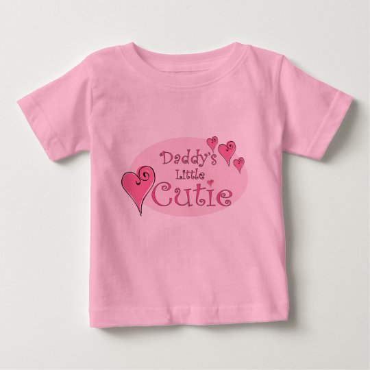 Daddy's Little Cutie Baby T-Shirt