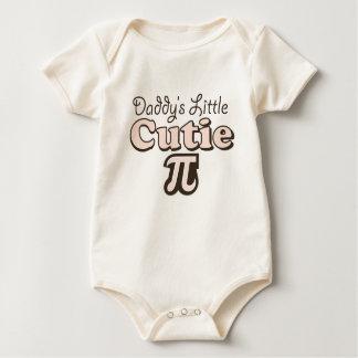 Daddy's Little Cutie Pi Baby Organic Bodysuit