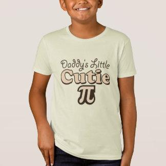 Daddy's Little Cutie Pi Kids Organic Tee Shirt