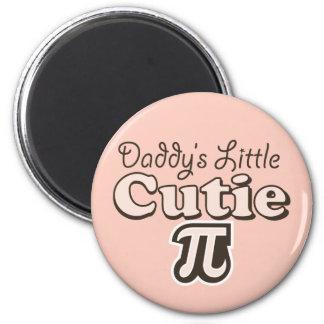 Daddy's Little Cutie Pi Magnet
