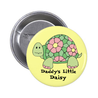 Daddy's Little Daisy Pinback Buttons