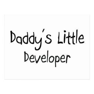 Daddy's Little Developer Postcards