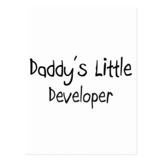 Daddy's Little Developer Post Cards