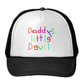 Daddys little devil trucker hat