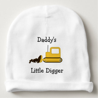 Daddy's Little Digger Infant Hat