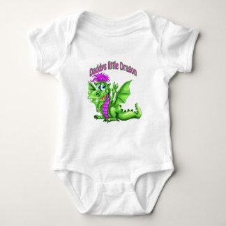 Daddy's Little dragon Baby Bodysuit