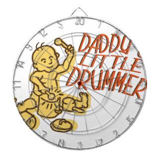 Daddys Little Drummer Dartboard With Darts