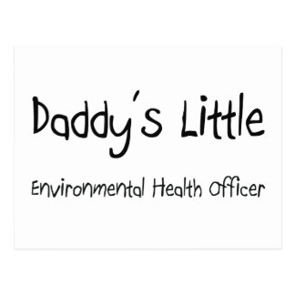 Daddy's Little Environmental Health Officer Post Cards