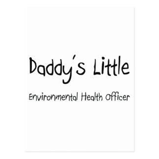 Daddy's Little Environmental Health Officer Postcard