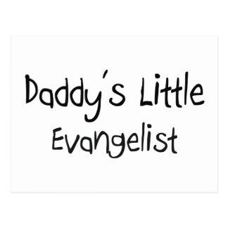 Daddy's Little Evangelist Postcard
