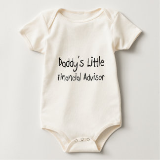Daddy's Little Financial Advisor Baby Bodysuit