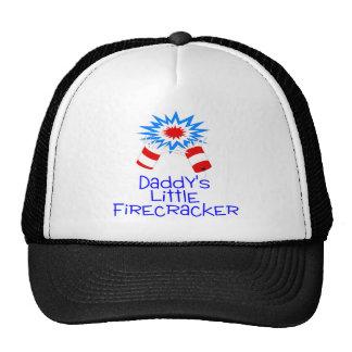 Daddys Little Firecracker Trucker Hat