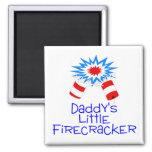 Daddys Little Firecracker Magnet