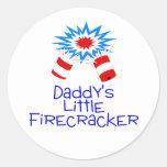 Daddys Little Firecracker Stickers