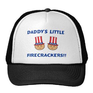 Daddy's Little Firecrackers Trucker Hat