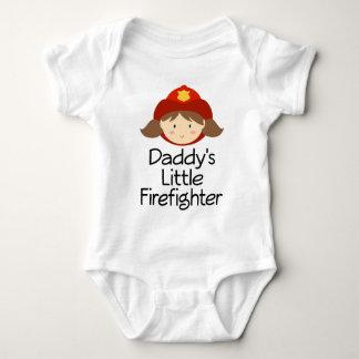 Daddy's Little Firefighter Baby Bodysuit