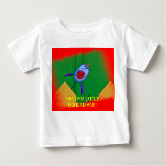 Daddy's Little Fisherman Infant T-Shirt