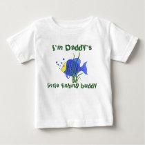 Daddy's little fishing buddy - T-shirt