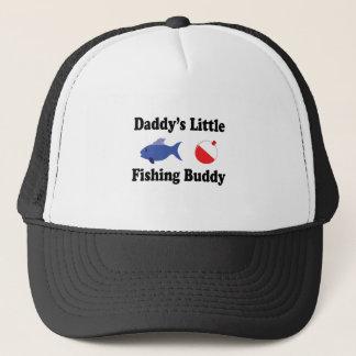 daddys little fishing buddy trucker hat
