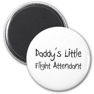 Daddy's Little Flight Attendant Magnet