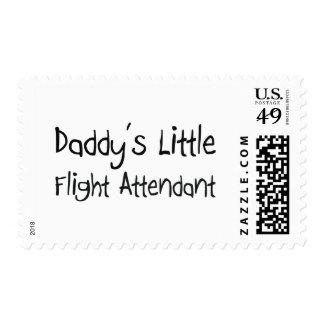 Daddy's Little Flight Attendant Postage