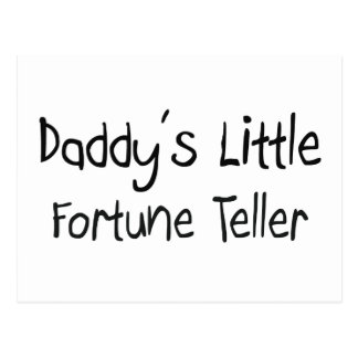 Daddy's Little Fortune Teller Postcard