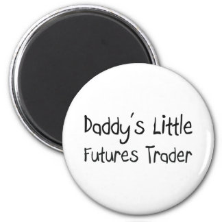 Daddy's Little Futures Trader Fridge Magnets