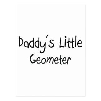 Daddy's Little Geometer Postcard