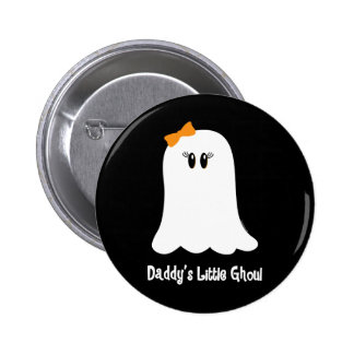 Daddy's Little Ghoul 2 Inch Round Button