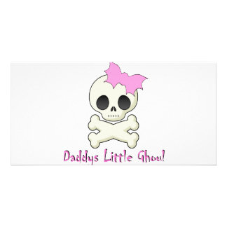 Daddy's little Ghoul Chiller Font Card