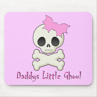 Daddy's little Ghoul Chiller Font Mouse Pad