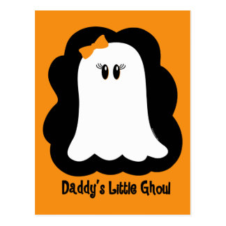 Daddy's Little Ghoul Postcard