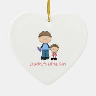 Daddy's Little Girl (2) Ceramic Ornament