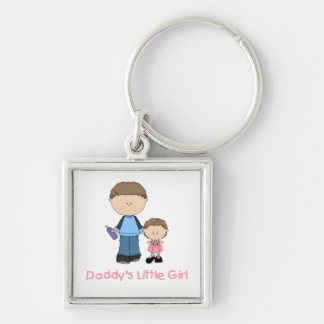 Daddy's Little Girl (2) Keychain